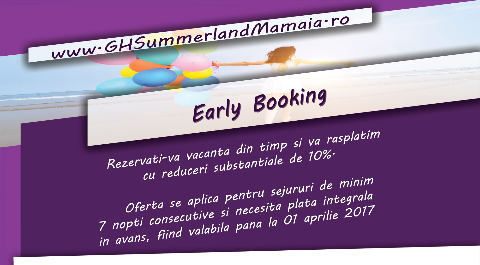 Oferta Earlybooking Summerland Mamaia